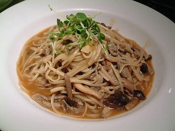 牛肝菌義大利麵
