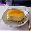餐後柳橙慕斯蛋糕