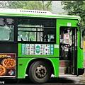 綠色7024的路線有莫名其妙的感覺,連韓國阿珠媽都會坐錯