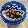 回程時在便利商店買了紅豆冰,賣相普通但味道還不錯