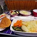 機上餐點,旅程正式結束囉~