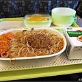 飛機上的家鄉味米粉餐
