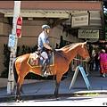 西雅圖街頭也有騎警