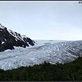 看見部分冰河了~