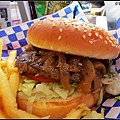 馴鹿肉Caribou漢堡