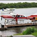在King Salmon轉搭水上飛機