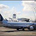 Alaska航空的圖像是愛斯基摩人