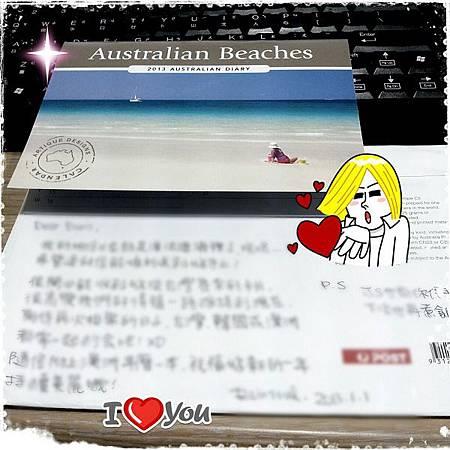 2013/01/14澳洲來的祝福