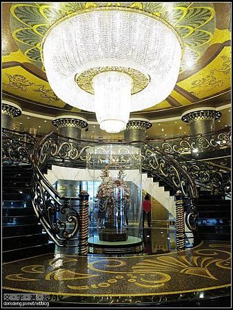 葡京酒店大廳