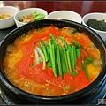 2013/08/04(日)金浦機場韓食堂豆腐鍋