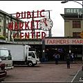西雅圖停留半日再到市場走走