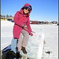 製作冰雕的冰塊都好巨大