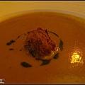 前菜-蟹餅蕃茄濃湯