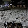 最後再到沙灘上走走