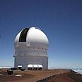 滿月下的天文台