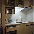 飯店房間有小廚房