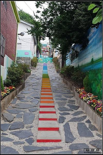 小巷也有繽紛色彩