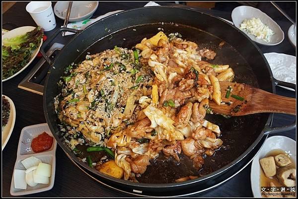 午餐春川辣炒雞排