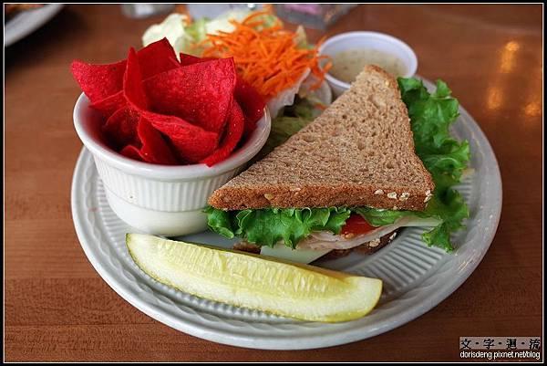午餐的三明治
