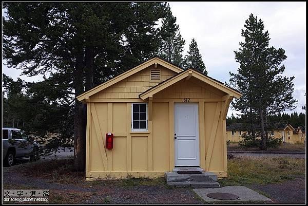 入住的小木屋