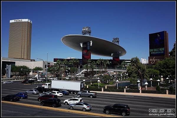飛碟造型shopping mall