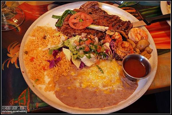 晚餐墨西哥菜