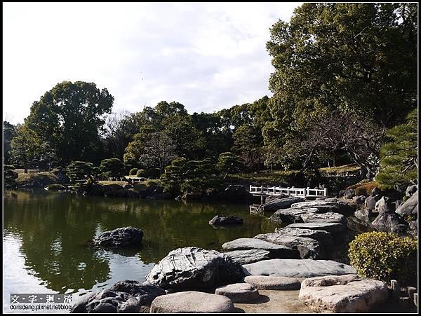 美麗的日式庭園