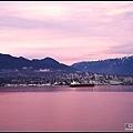 溫哥華港黃昏景緻