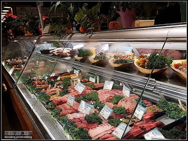 肉舖也擺得整齊
