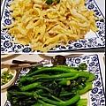 小魚和青菜很爽脆