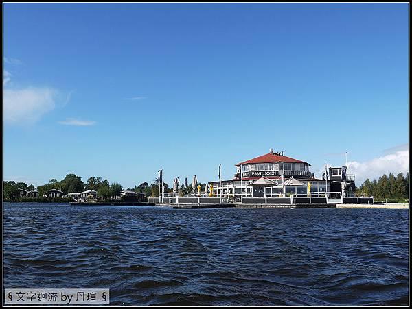 運河上的餐廳