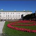 宮殿建築很壯觀