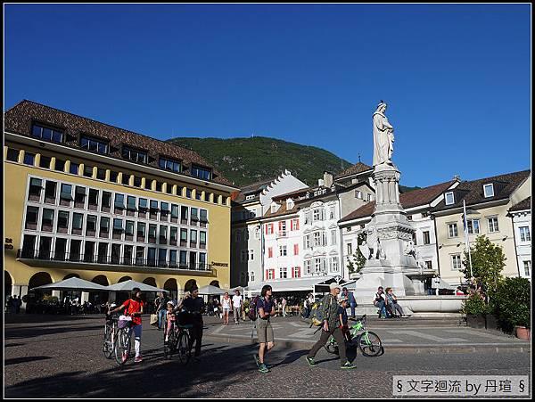 抵達義大利Bolzano小鎮