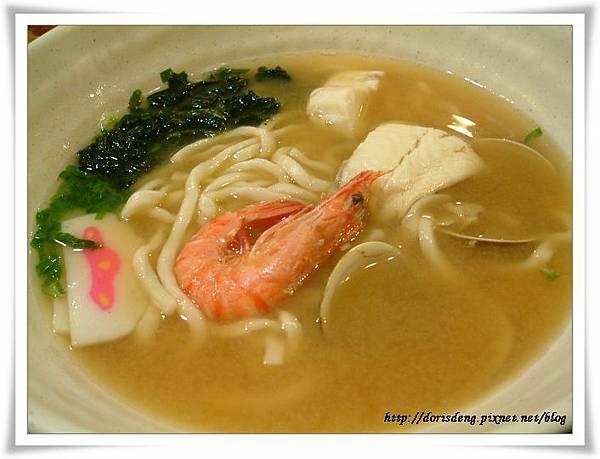 味噌海鮮麵