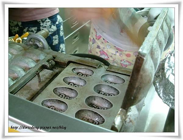 雞蛋糕製作過程