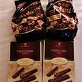 在糖果店買的巧克力餅乾