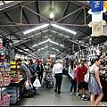之後到墨爾本最大的市集Queen Victoria Market