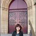教堂門口留影