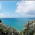 那天的海水顏色很美^^