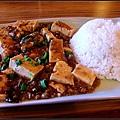 肉碎豆腐飯