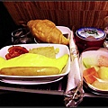 曼谷至墨爾本第三餐