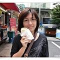 鯛魚形狀的三明治,大的2,000w紅豆口味的好好吃~
