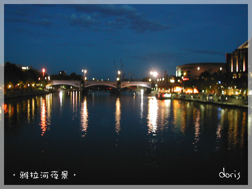 雅拉河夜景2