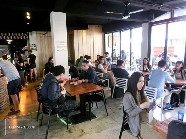 朵力/倔強朵力/doristylebook/做咖啡/台中/台中美食/台中咖啡店/草悟道/勤美誠品
