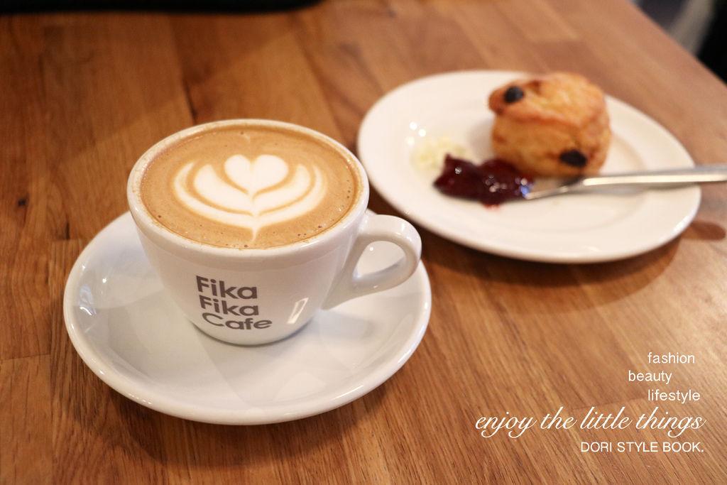 松江南京 北歐風格 Fika Fika Cafe。倔強朵力。朵力。doristylebook。dori