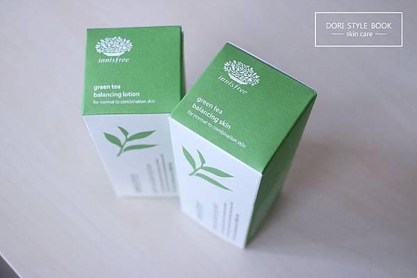 innisfree GREEN TEA綠茶平衡調理水,綠茶水平衡乳衣,火山泥毛孔潔淨面膜。倔強朵力。朵力。doristylebook
