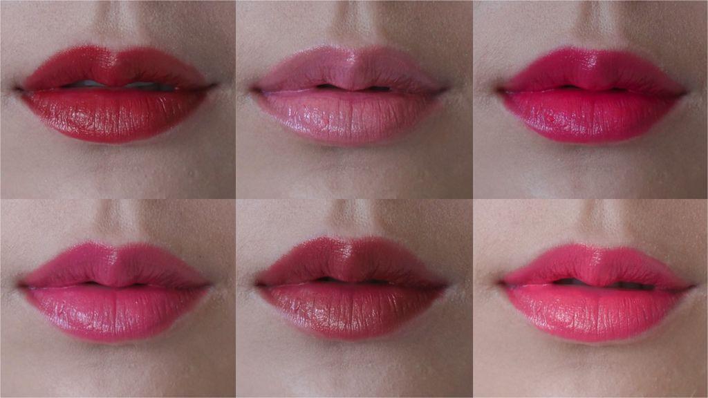 雅詩蘭黛絕對慾望閃耀唇膏 14色 水彩5色試色/倔強朵力/朵力