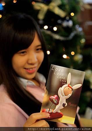 love兔明信片