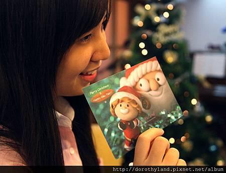 Little Santa明信片