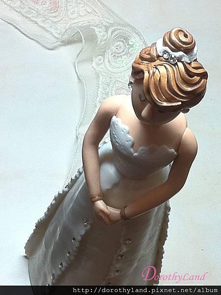 婚紗新娘公仔
